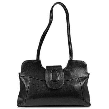 DAN-A T2 czarna torebka skórzana damska