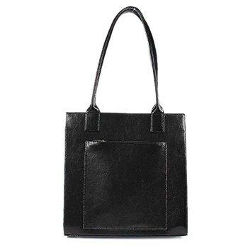 DAN-A T246 czarna torebka skórzana damska