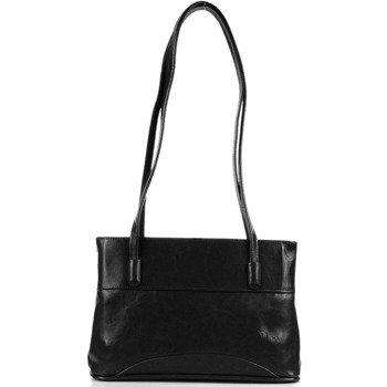 DAN-A T51 czarna torebka skórzana damska
