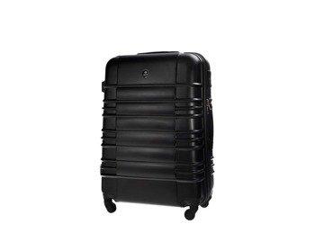 1286c90bdef66 Mała walizka kabinowa ABS 55x37x24cm STL838 czarna