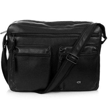 Skórzana torba na ramię, laptopa unisex Daag Storm 2