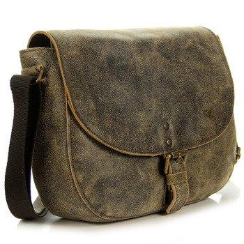 Skórzana torba unisex brązowa DAAG JAZZY RISK 158