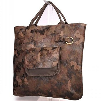 Skórzana torebka damska moro Mano 174