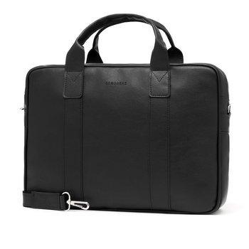 2a36ca6425703 Torba męska na ramię na laptop casual BRODRENE B01 czarna. Promocja  Bestseller 17