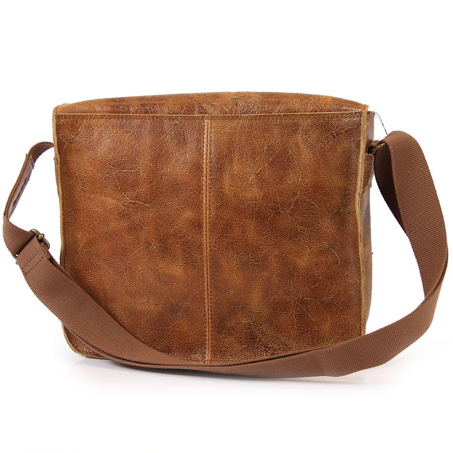 baa4074455fc5 ... DAAG Jazzy Wanted 32 brązowa torba skórzana unisex listonoszka przez  ramię