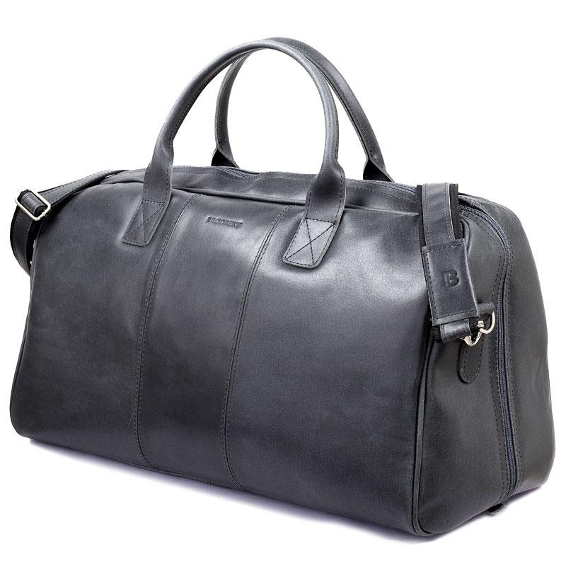 476d0e5c33bce Skórzana torba męska podróżna BRODRENE R10 grafitowa -  16690 ...