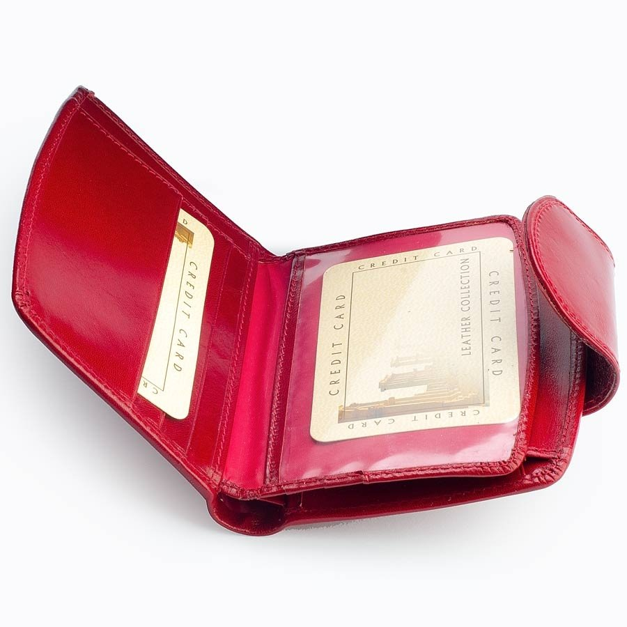 Skórzany portfel damski w pudełku GA41