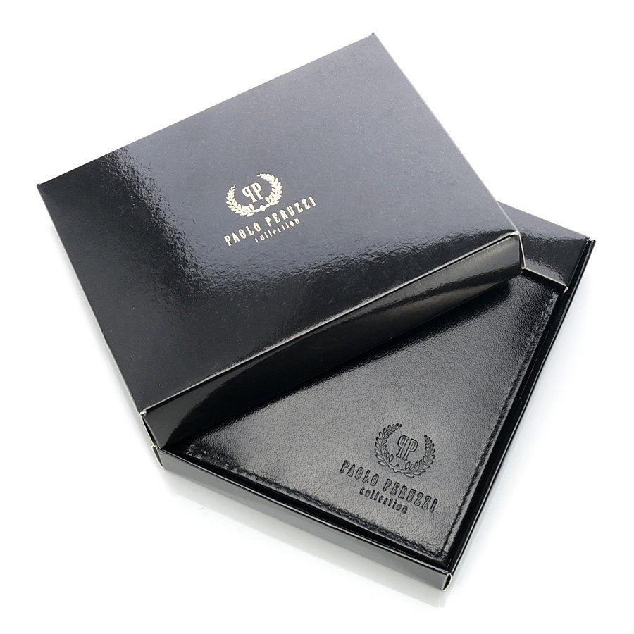 Skórzany portfel męski w pudełku GA34