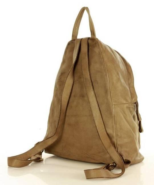Plecak damska beżowy Marco Mazzini v122b