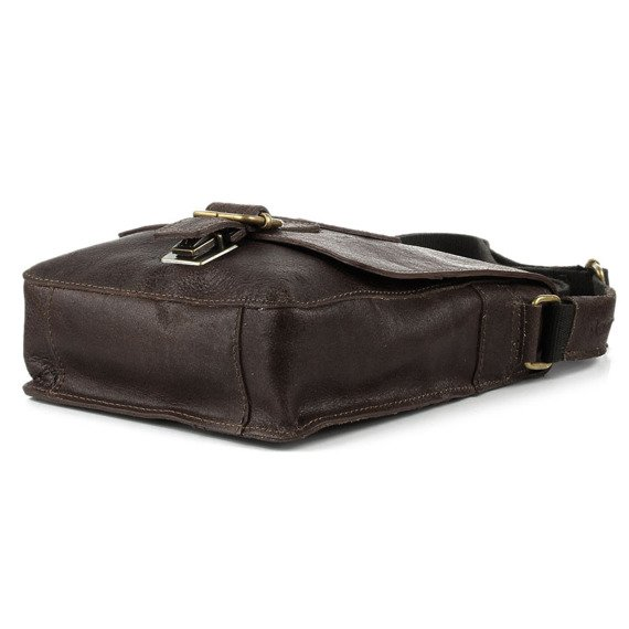 DAAG Jazzy Organic 4 brązowa skórzana torba na ramię unisex