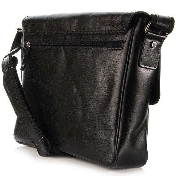 DAAG Jazzy Party 54 skórzana torba na ramię unisex czarna