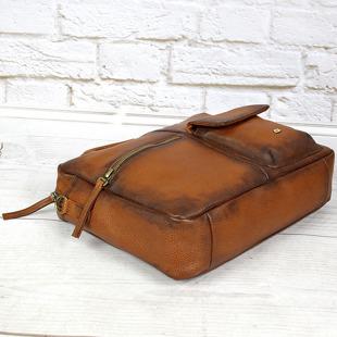 DAAG Native 1 koniakowa torba skórzana teczka