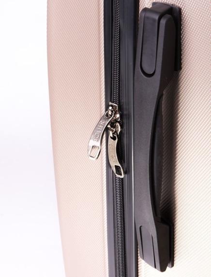 Duża walizka podróżna L stl310 abs niebieska