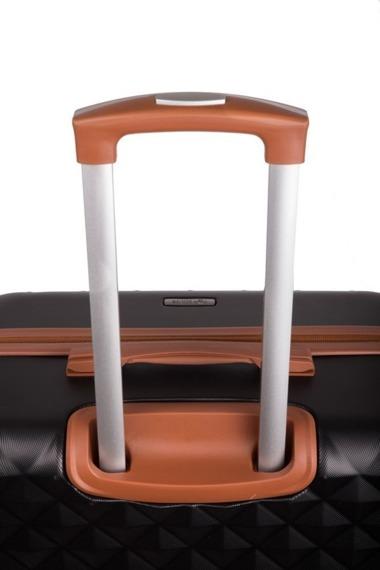Duża walizka podróżna stl190 koralowa