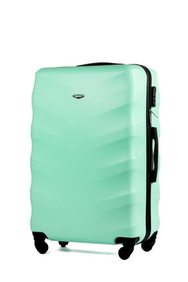 Duża walizka podróżna stl402 abs miętowa