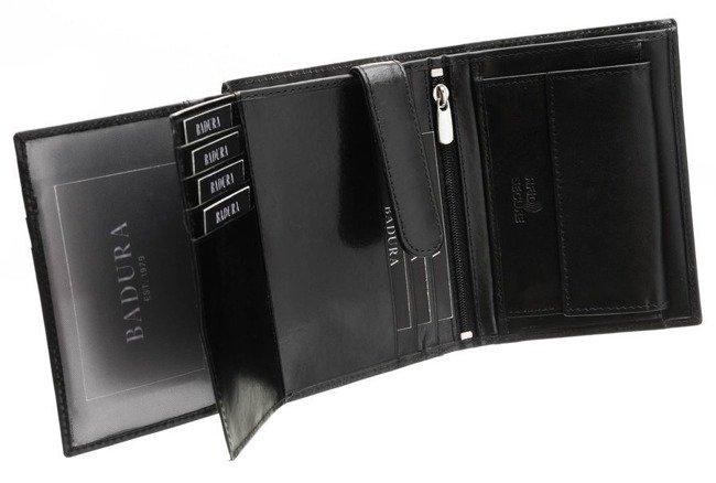 Elegancki portfel Badura N104 VT