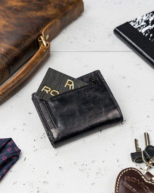 Etui na karty czarne Rovicky N1907L-RVTK BLACK