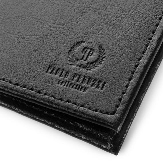 Etui na karty skórzane Paolo Peruzzi H-01-PP czarne