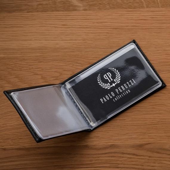 Etui na wizytówki, karty skórzane Paolo Peruzzi H-03-PP