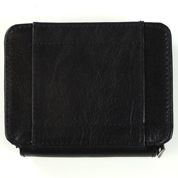 KRENIG Classic 12033 czarna skórzana saszetka etui na pasek