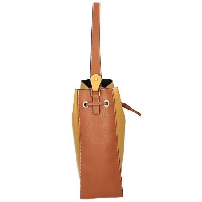 Klasyczna torebka damska żółta  Nobo NBAG-J0541-C002