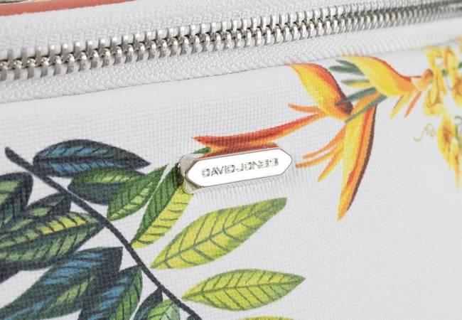 Kolorowa nerka damska DAVID JONES 6306-1 RASPBERRY