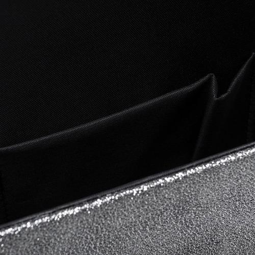 Kopertówka damska Felice F13 BLING srebrna