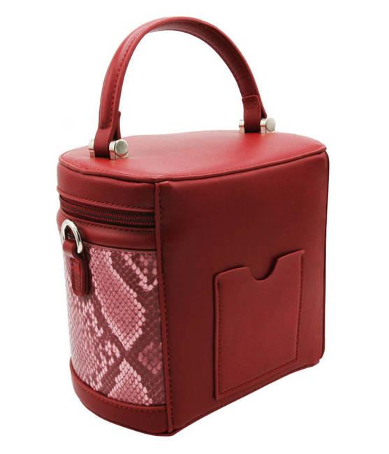 Kuferek czerwony David Jones CM5670 RED