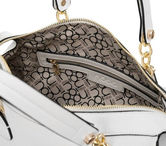 Kuferek damski biały Nobo NBAG-K3470-C000