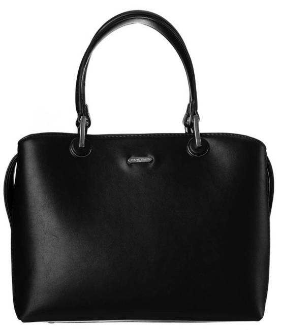 Kuferek damski czarny David Jones CM6001 BLACK