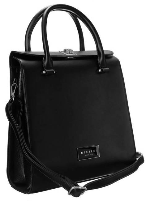 Kuferek damski czarny Monnari BAG2530-M20