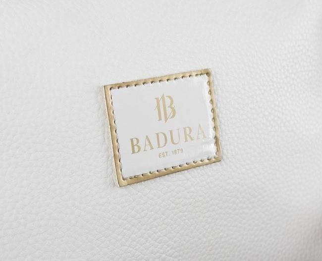 Listonoszka biało-złota Badura T_D228_BIA/ZL_CD
