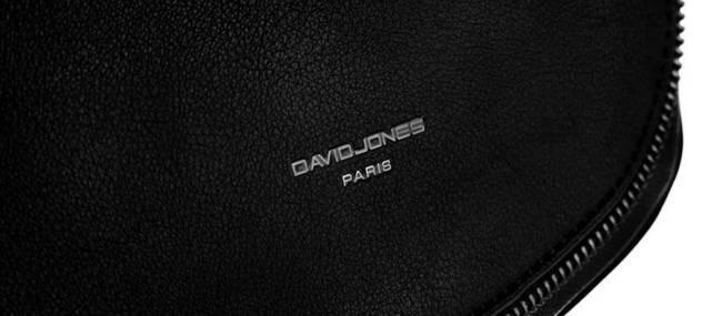 Listonoszka damska czarna David Jones CM5736 BLACK