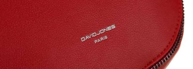 Listonoszka damska czerwona David Jones CM5736 RED