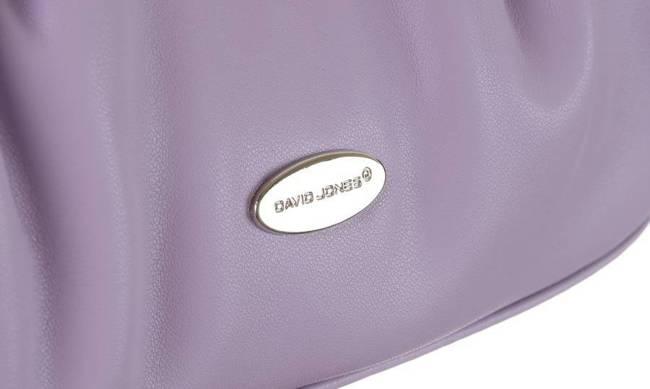 Listonoszka damska fioletowa David Jones CM6069 PURPLE