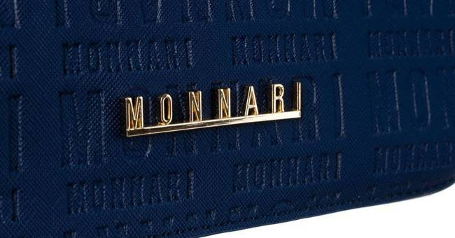 Listonoszka damska granatowa Monnari BAG1760-013-AB