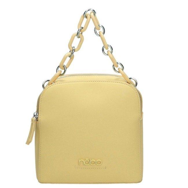 Listonoszka damska torebka NOBO 1570 żółta