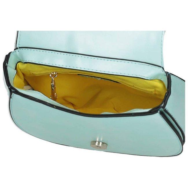 Listonoszka damska torebka podkowa Nobo niebieska 4620