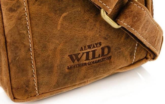 Listonoszka męska j. brązowy Always Wild 250840-MH-1862 TAN
