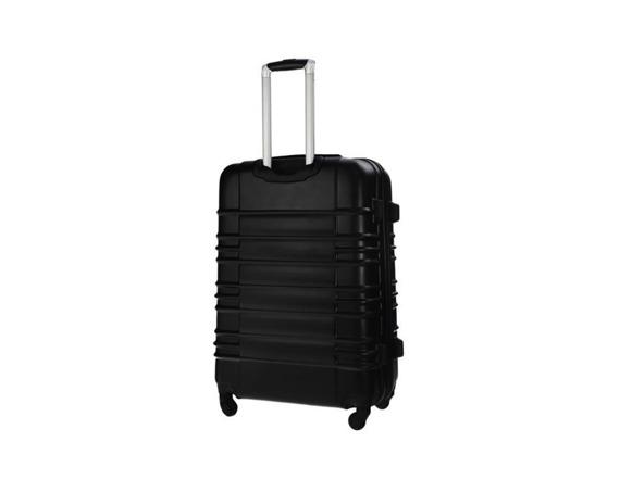Mała walizka kabinowa ABS 55x37x24cm STL838 czarna