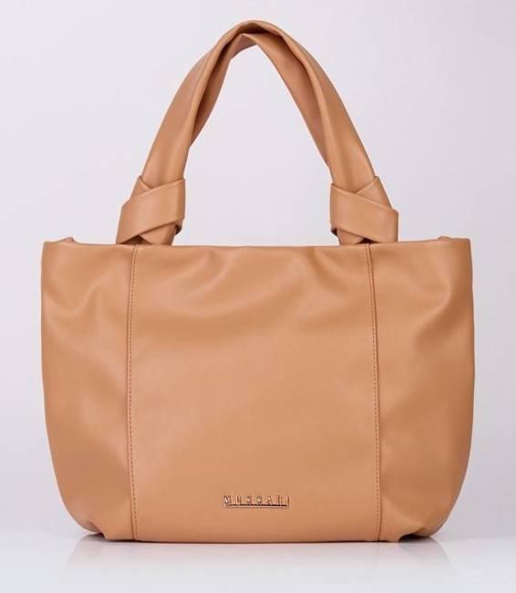 Miękka shopperka j. brązowa Monnari  BAG1120-017