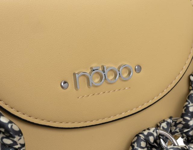NOBO® mini torebka damska listonoszka podkowa skóra eko