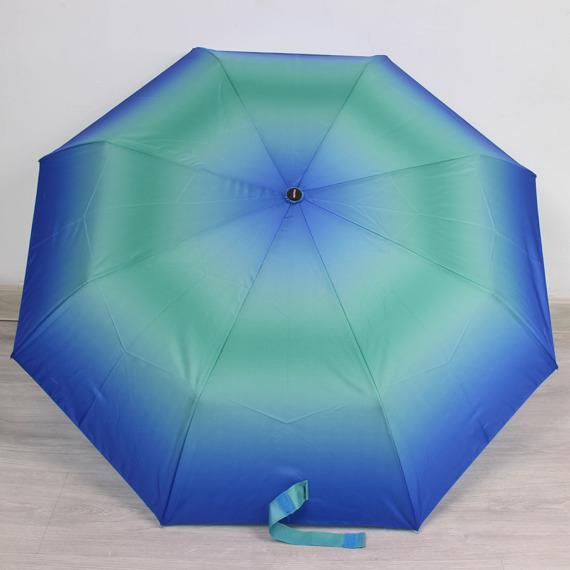 Parasol składany DOPPLER PA135 niebiesko - zielony