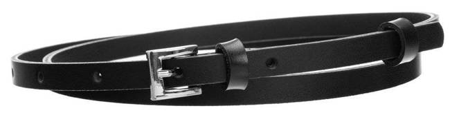 Pasek damski czarny PD-NL-1-105