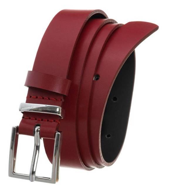 Pasek damski czerwony PD-NL-2,5-105