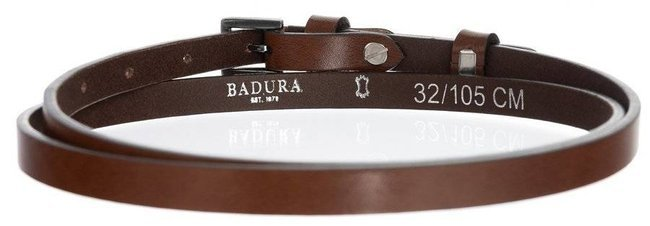 Pasek damski j. brązowy BADURA PBD-1-A-105-8433 TAN