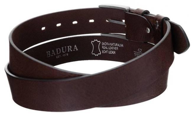 Pasek męski brązowy Badura PBJ-06-C 105cm