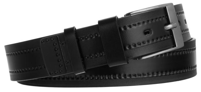 Pasek męski czarny Rovicky  PRS-06-G