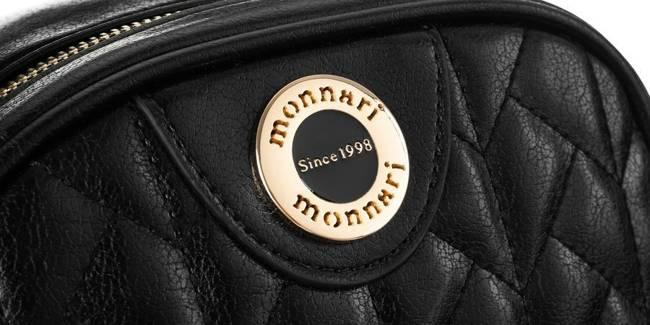Pikowana listonoszka czarna Monnari BAG2730-020