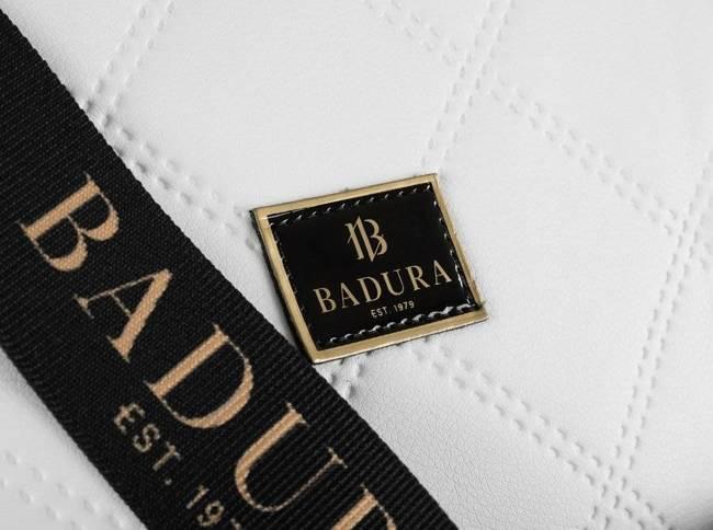 Pikowana shopperka biała Badura T_D227PIK_BIA_CD